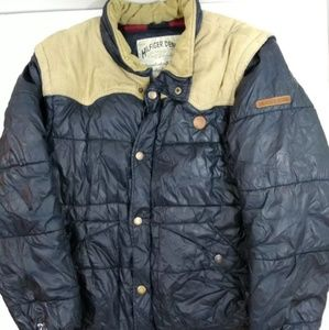 Vintage Tommy Hilfiger puffer Courderoy small coat